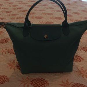 Longchamp Tiffany Blue Le Piage Neo Handbag